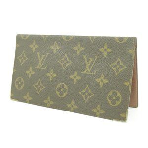 Louis Vuitton Check Book Long Wallet Card